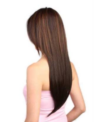 Lesalon 半頭套  女 長直髪  假髪片 接髪片 局部接髪 假髪髪飾 61301