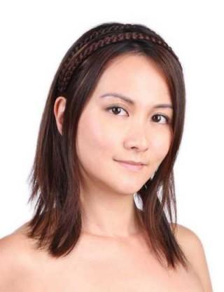 Lesalon 髪箍 女 新款 西波米亞風髪飾 麻花辮 辮子髪箍 髪飾假髮 64401
