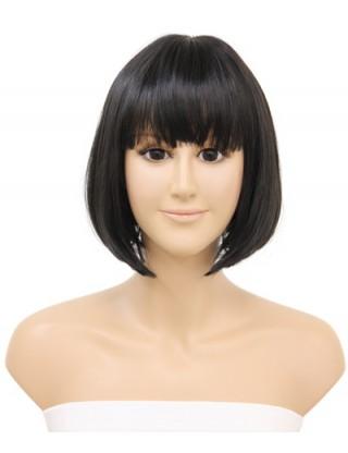 Pretty Sharon 全假髮 中長直髮梨花頭假髮女 甜美仿真整頂假髮套內扣SRN-3082