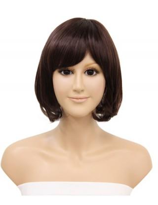 Pretty Sharon 全假髮 中長直髮梨花頭假髮女 甜美仿真整頂假髮套內扣SRN-3083