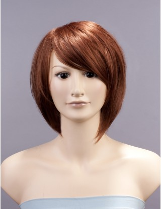 Wigs2you 全假髮 日本正品 短 直 蓬松 右偏分 清爽 甜美 修臉 可愛 時尚BOB頭 甜美可愛型W-131