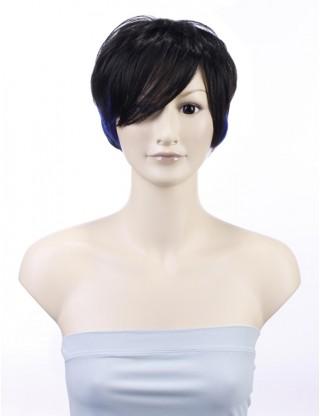 Wigs2you 全假髮 日本正品 短 直 蓬松 斜劉海 清爽 個性 酷 時尚 經典 氣質OL型W-147