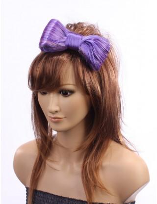 Wigs2you 髪飾 日本正品 可愛 甜美 活潑 時尚 髪夾式紫色蝴蝶髪飾W-8209